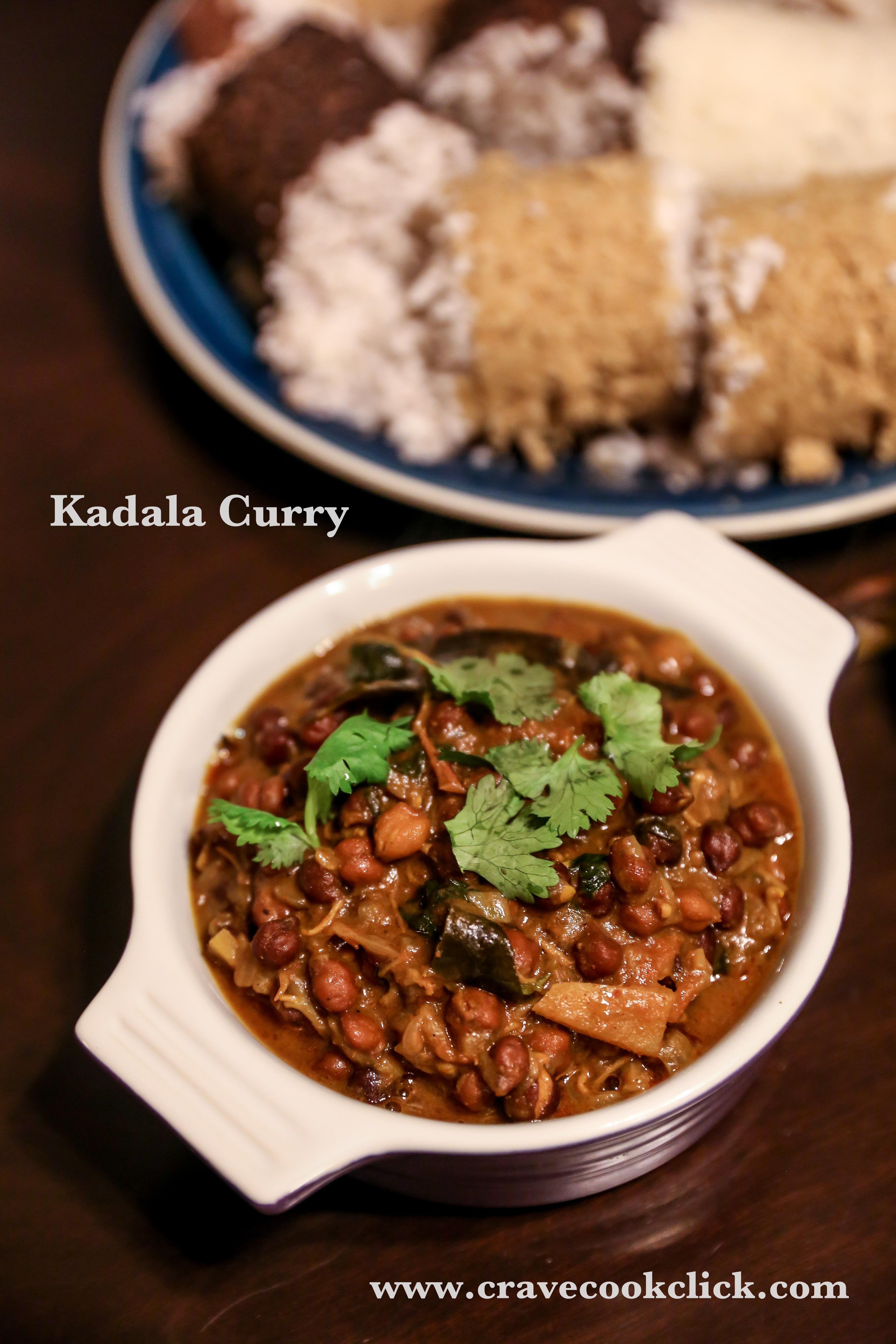 Rice Puttu, Wheat Puttu, Ragi Puttu Recipe with Kadala Curry