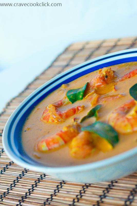 Kerala style Prawns Curry Recipe