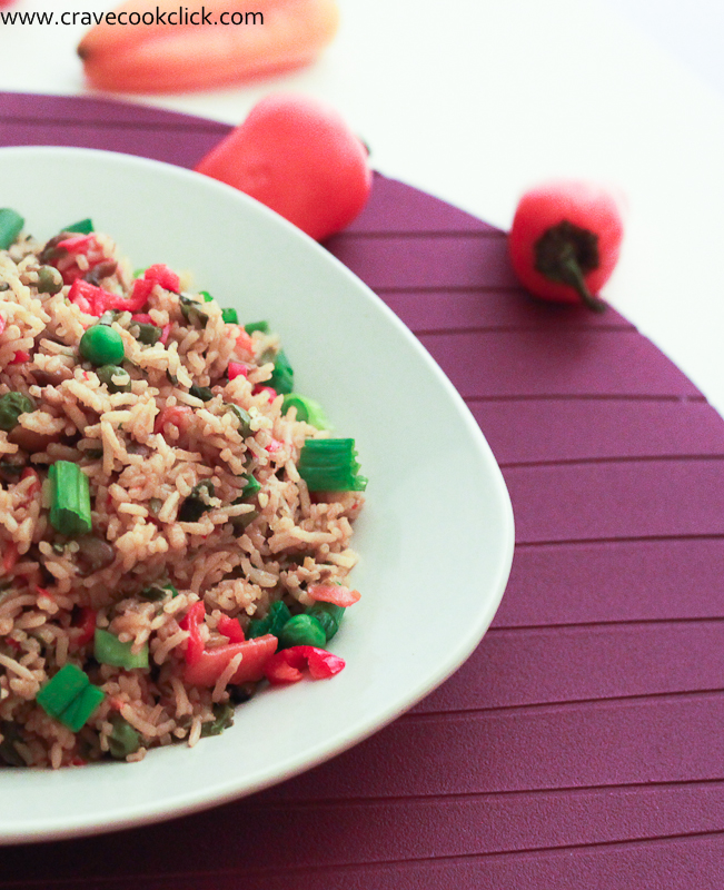 Chinese Vegetarian Fried Rice Recipe