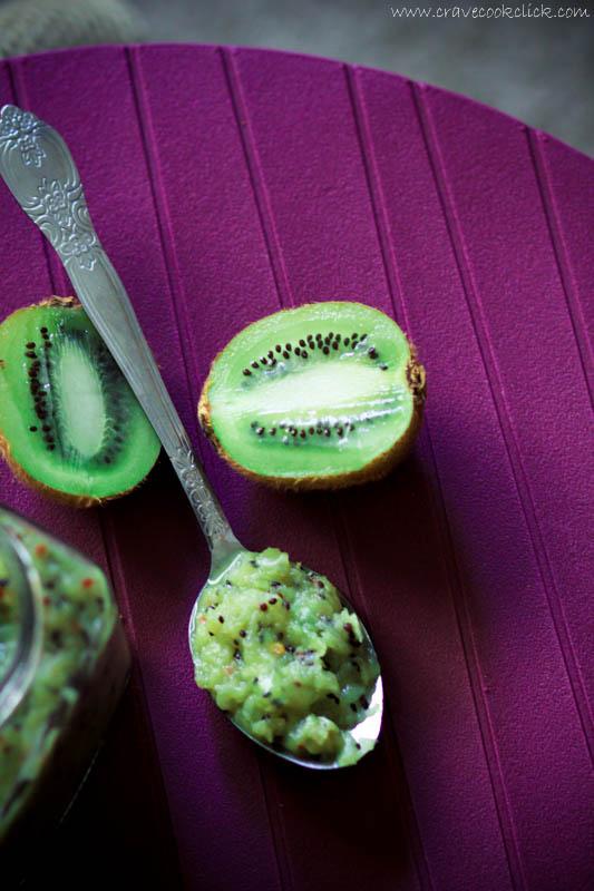 Kiwi & Green Apple Chutney Recipe