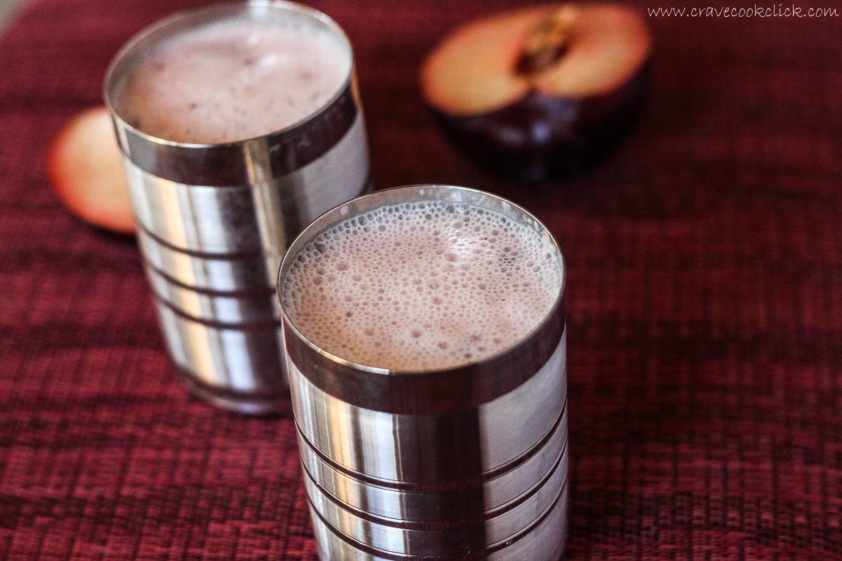 Plum Lassi Recipe