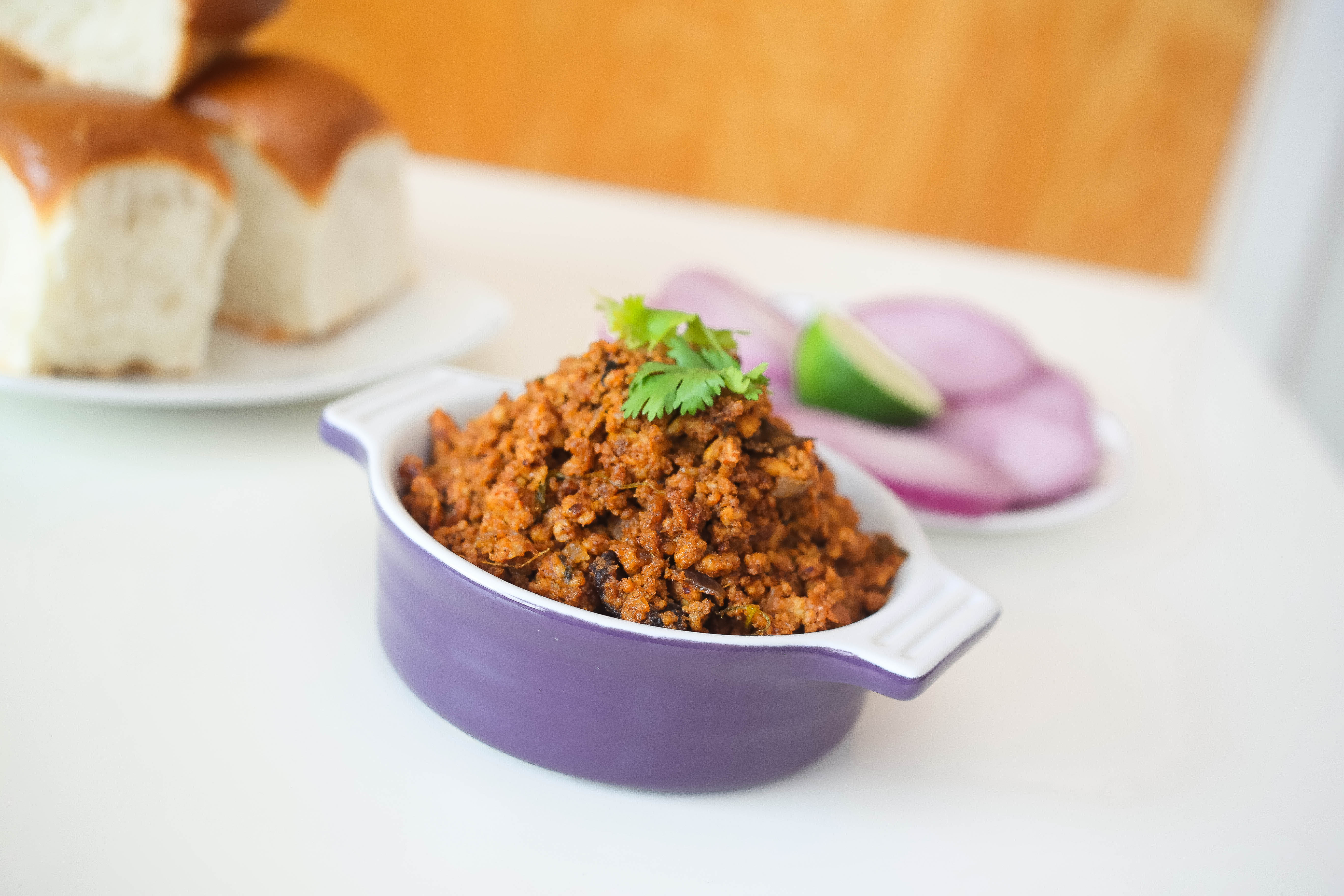 Kheema Pav Recipe
