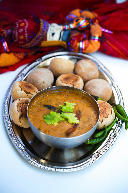 Dal Baati Churma Recipe