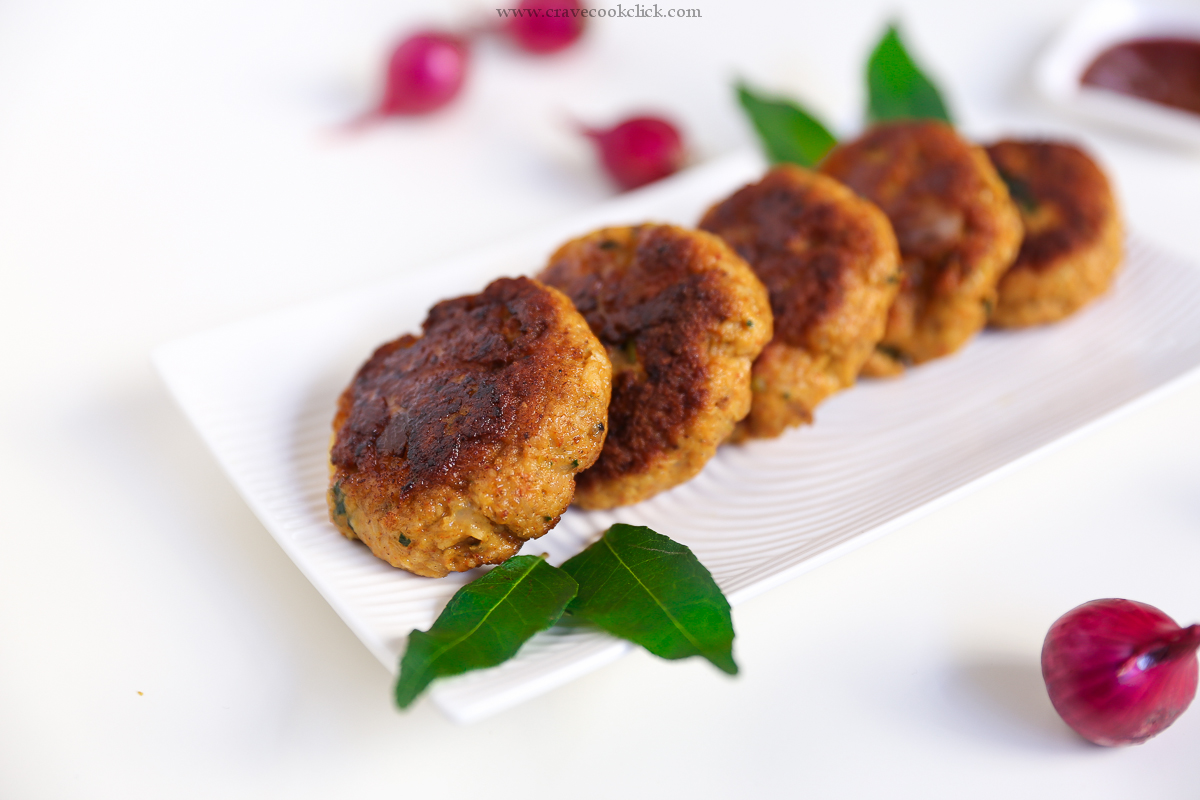 Prawns Cutlet Recipe