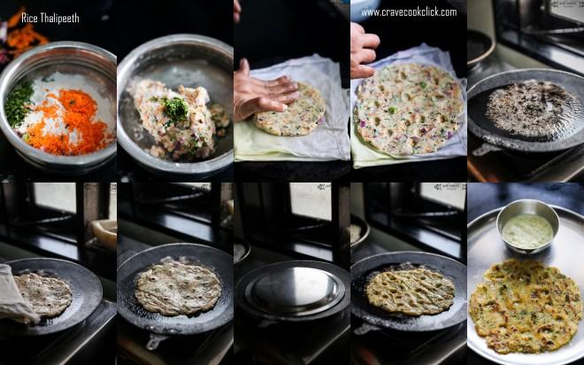 Rice Thalipeeth/Savory Rice Pancake Recipe