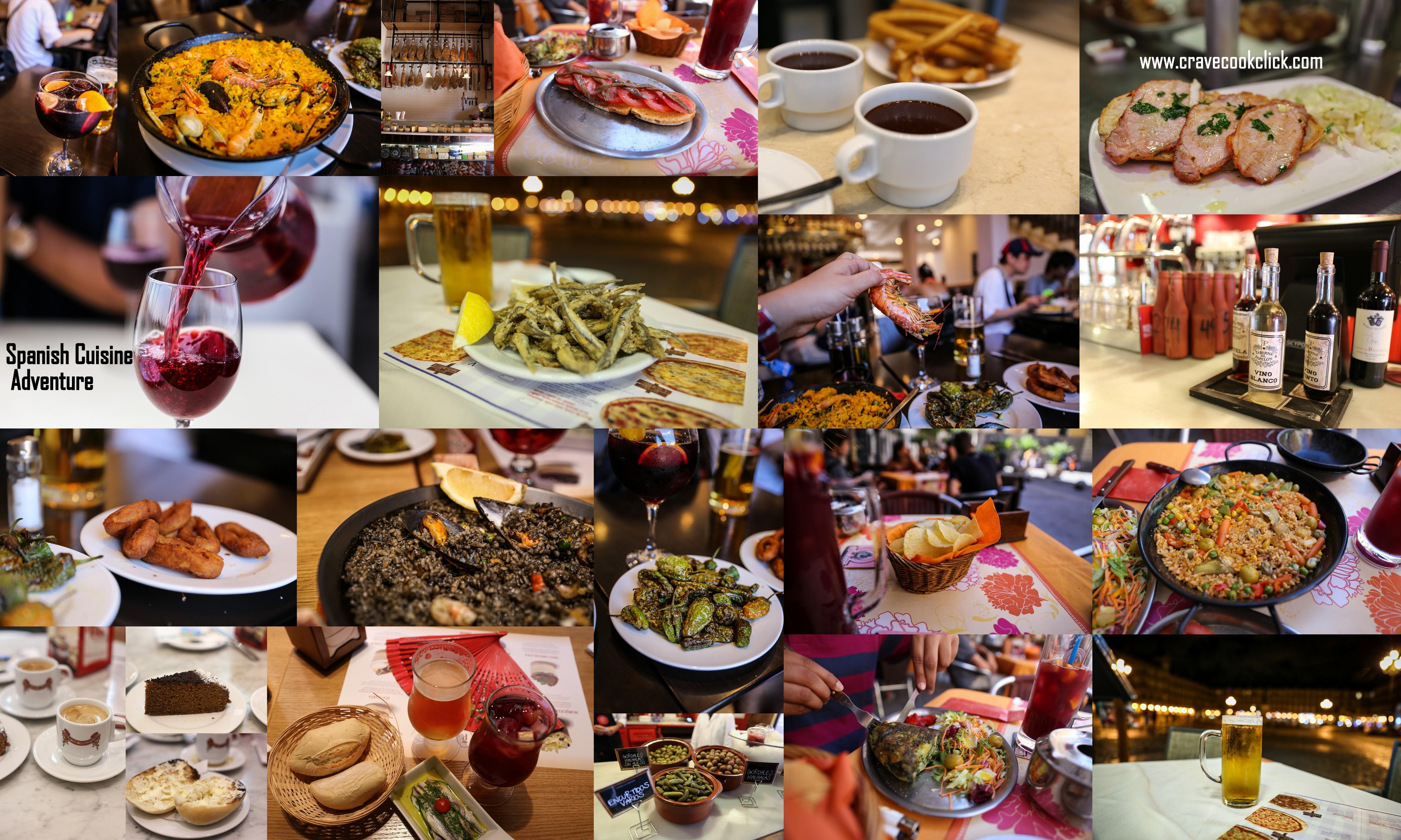 Cocina Española-Spanish Cuisine Adventure