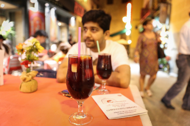 One drink which will be awesome throughout Spain is SANGRIA