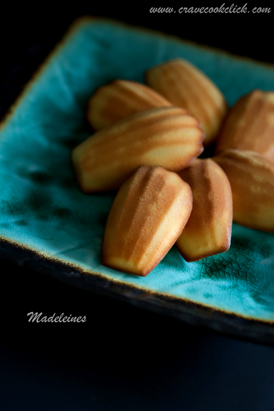 Madeleines Video Recipe