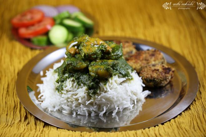 IMG 9493 660x440 Green Prawns Curry with Bangda Fry Recipe/How to make green prawns