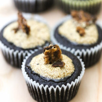 Chocolate Cupcakes with Coffee Glaze Recipe