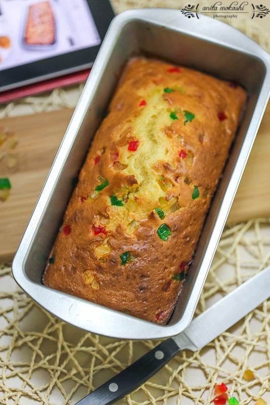 Tutti Frutti Loaf Cake Recipe