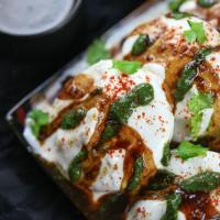 Fat Free Dahi Vada ( Microwave Recipe)