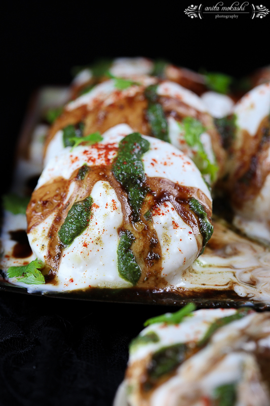 Fat Free Dahi Vada ( Microwave Recipe)