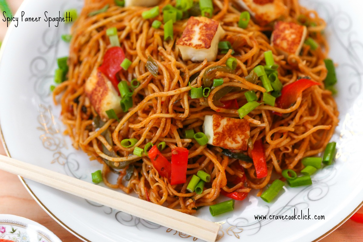 16 Spicy Paneer Spaghetti Recipe