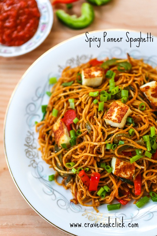 22 Spicy Paneer Spaghetti Recipe