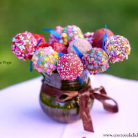 Cake Pops-How to make cake pops