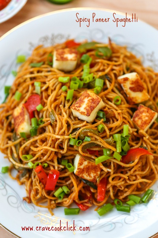 36 Spicy Paneer Spaghetti Recipe