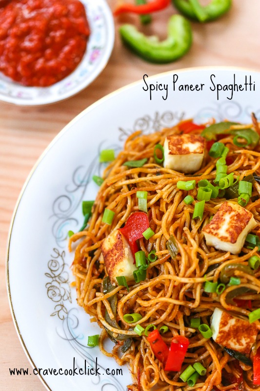41 Spicy Paneer Spaghetti Recipe