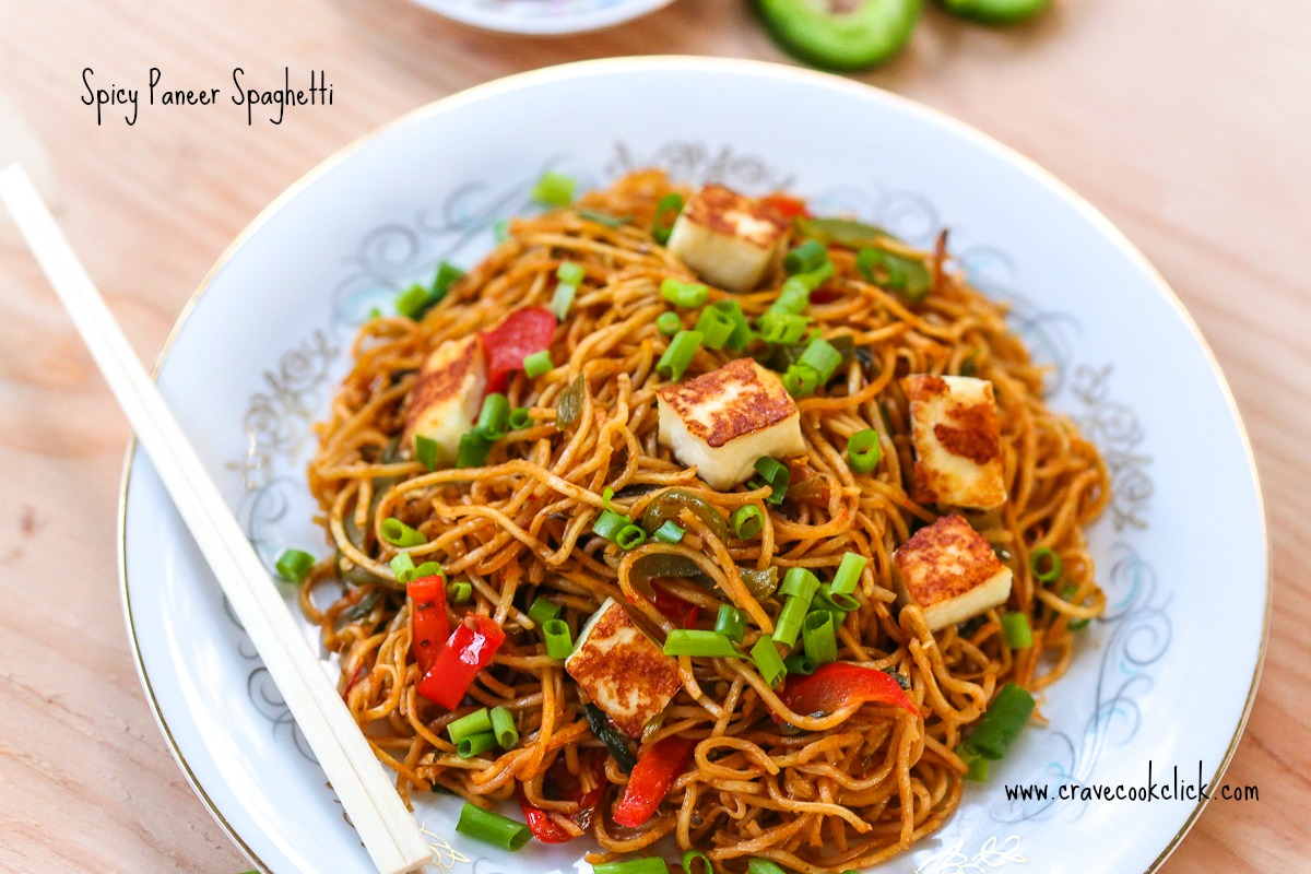 61 Spicy Paneer Spaghetti Recipe
