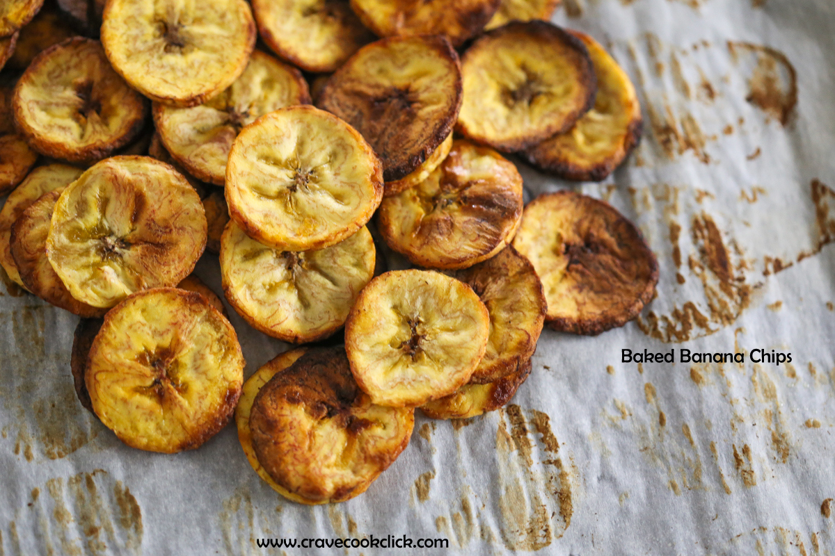 91 Baked Banana/Plantain Chips Recipe