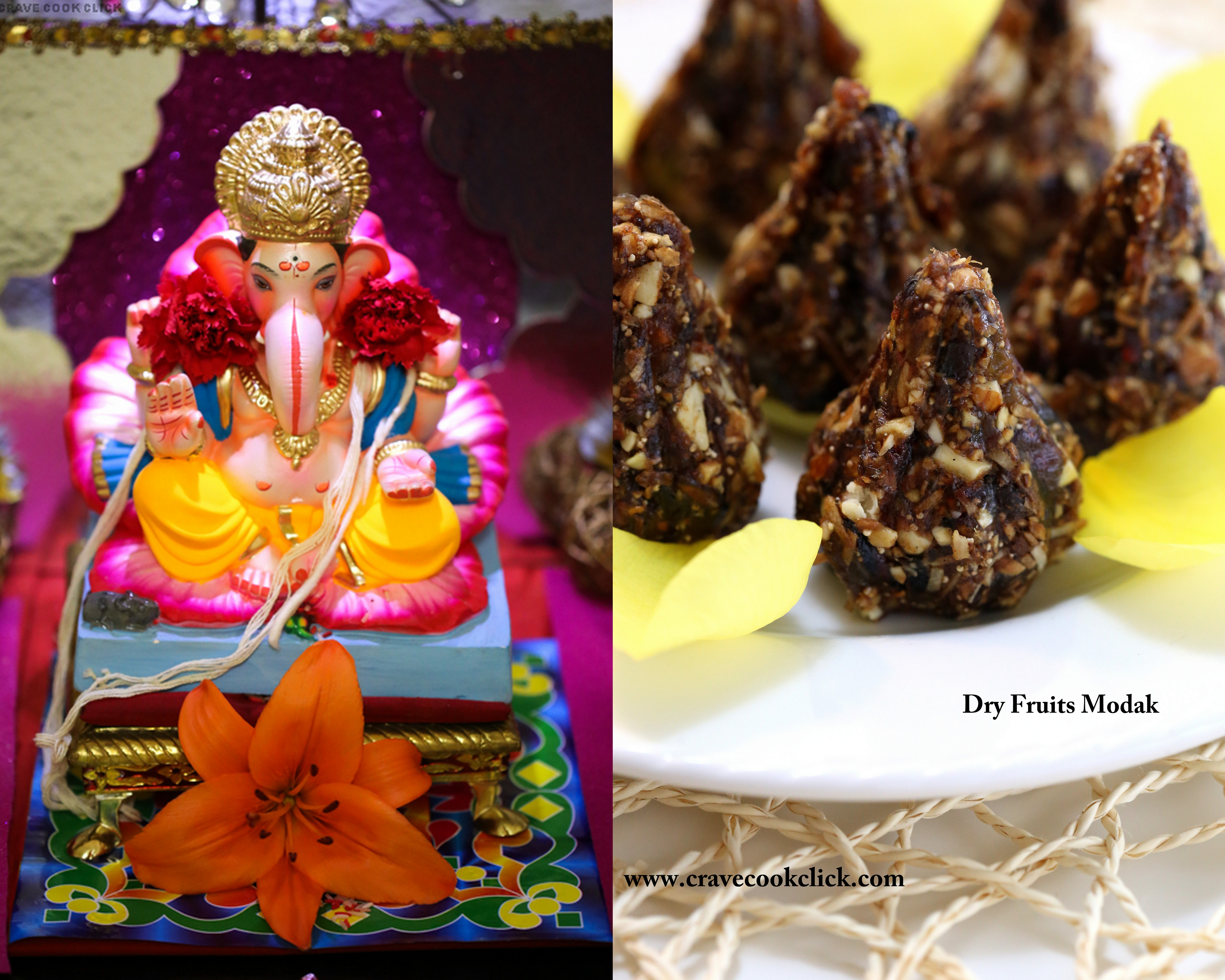 z Dry fruit Modak Video Recipe Ganesh Chaturthi Special