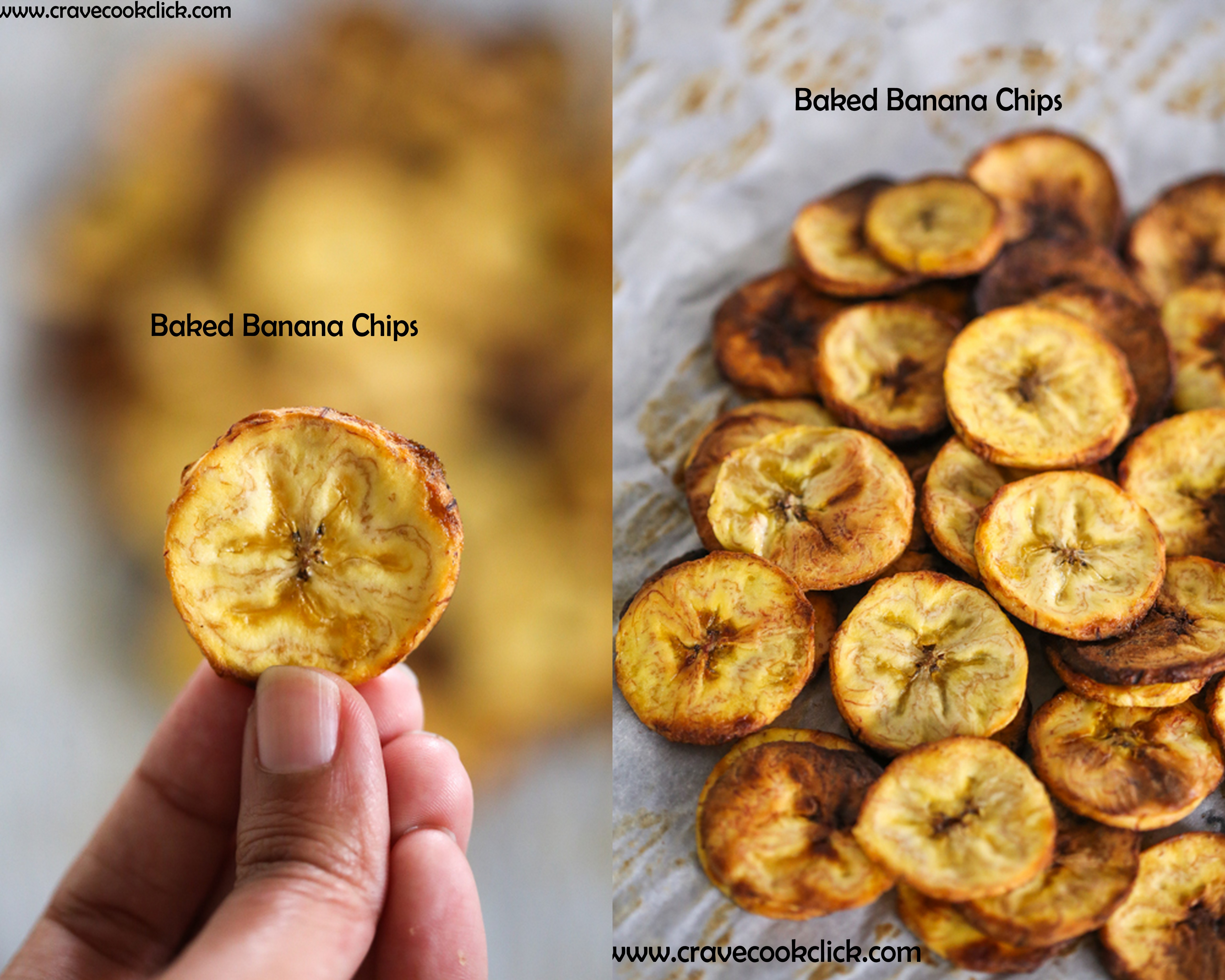 z1 Baked Banana/Plantain Chips Recipe