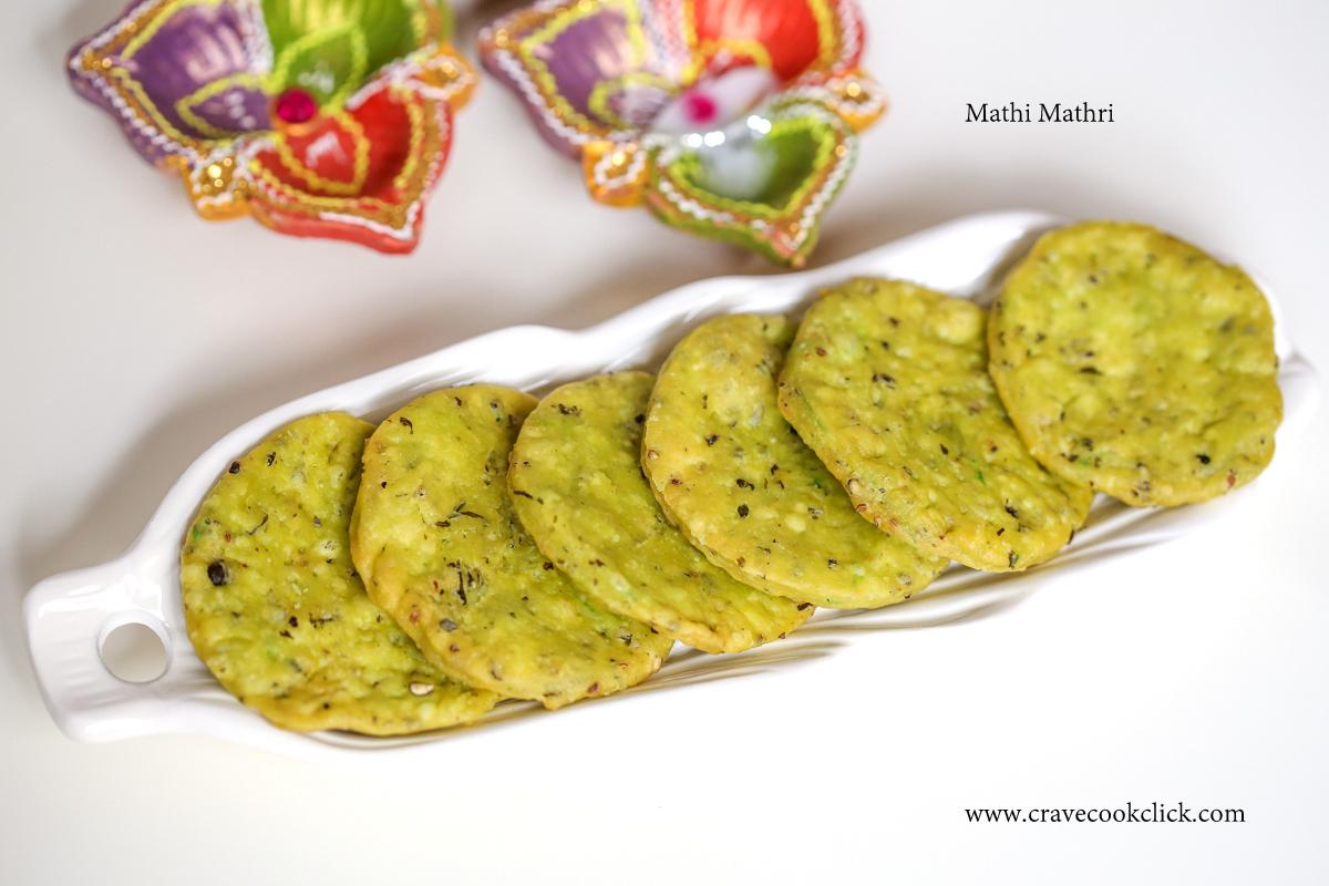 Methi Mathri-Diwali Delicacy