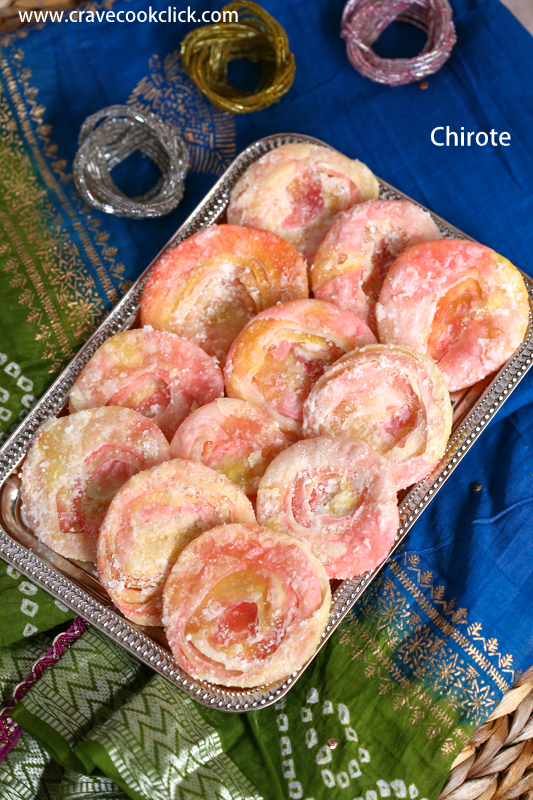 Chirote-Diwali Delicacy