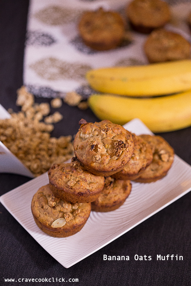 Banana Oats Muffin