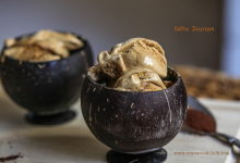 coffee ice-cream, how to make easy coffee ice-cream, ice-cream recipe, how to make ice-cream