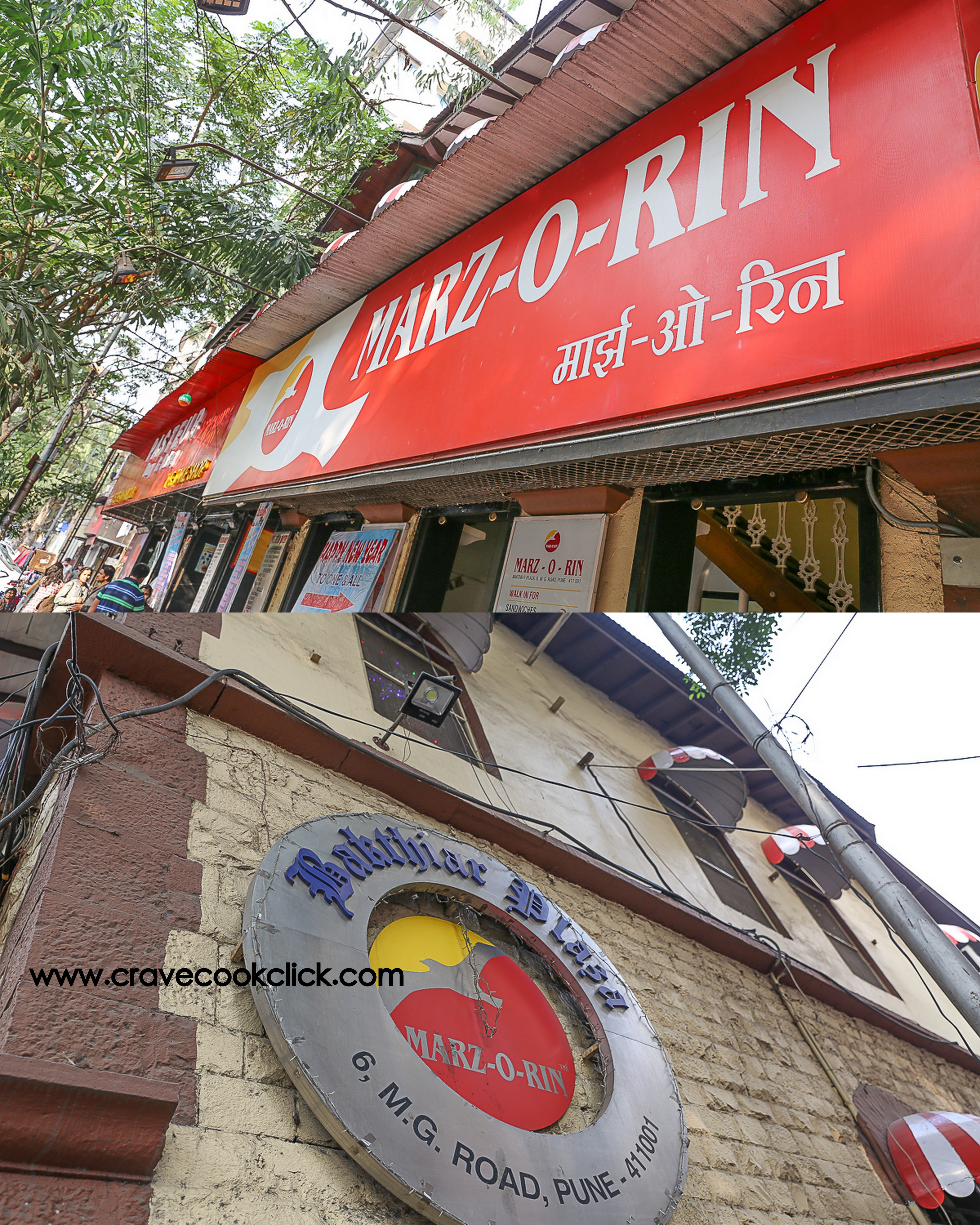 Pune Eateries, Kayani Bakery, Shree Uphar Graha Misal, Marzorin Bakery, Pune, India, Maharashtra, Restaurants