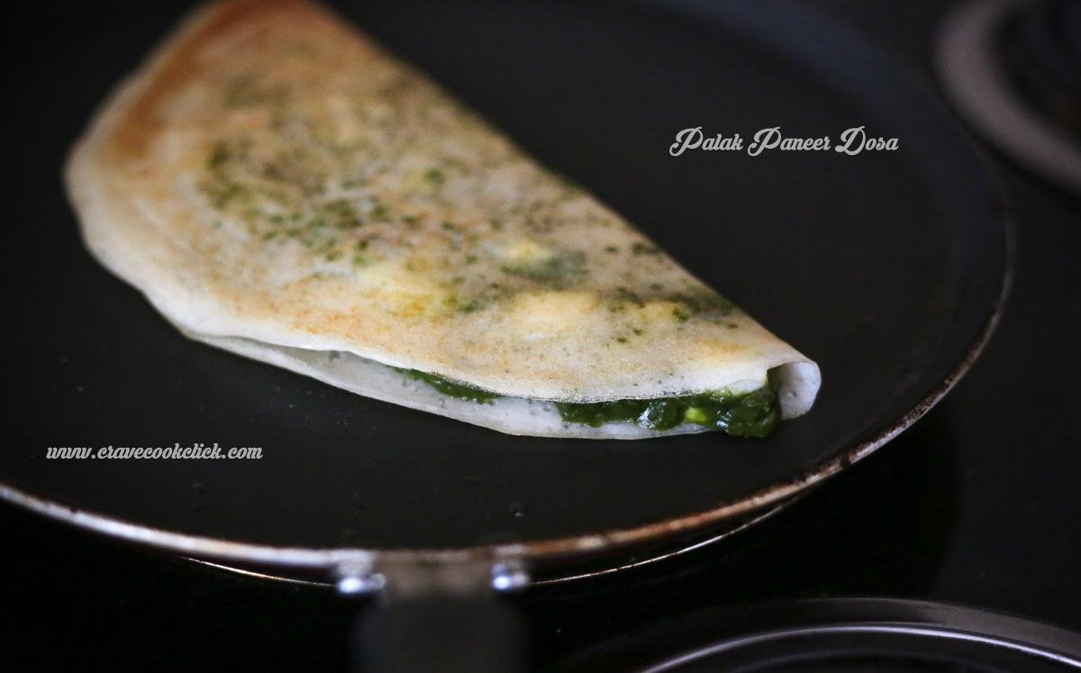 Palak Dosa, Palak Paneer Dosa, How to make palak paneer dosa, healthy dosa
