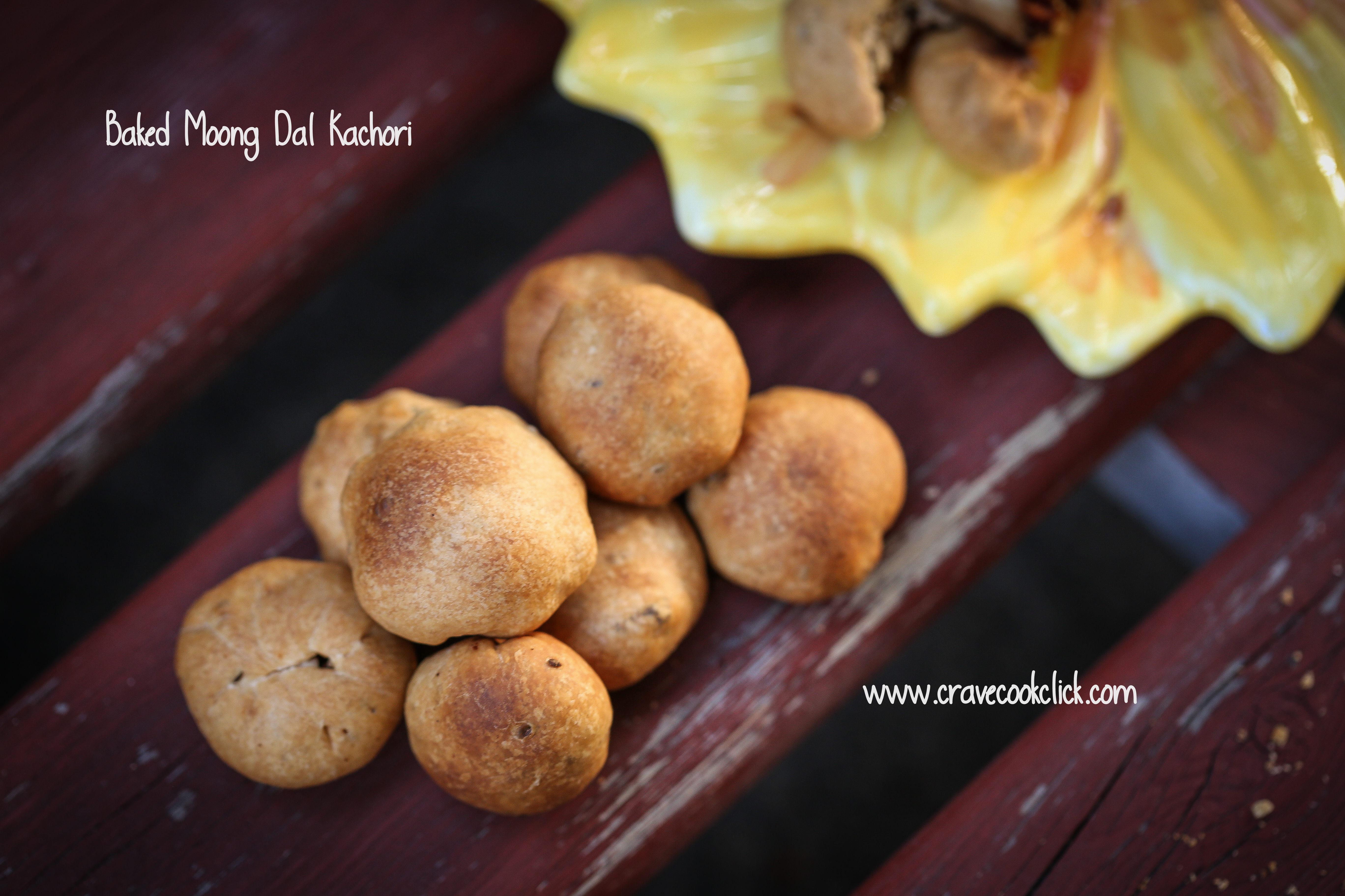 Baked Moong Dal Kachori/How to make a baked kachori