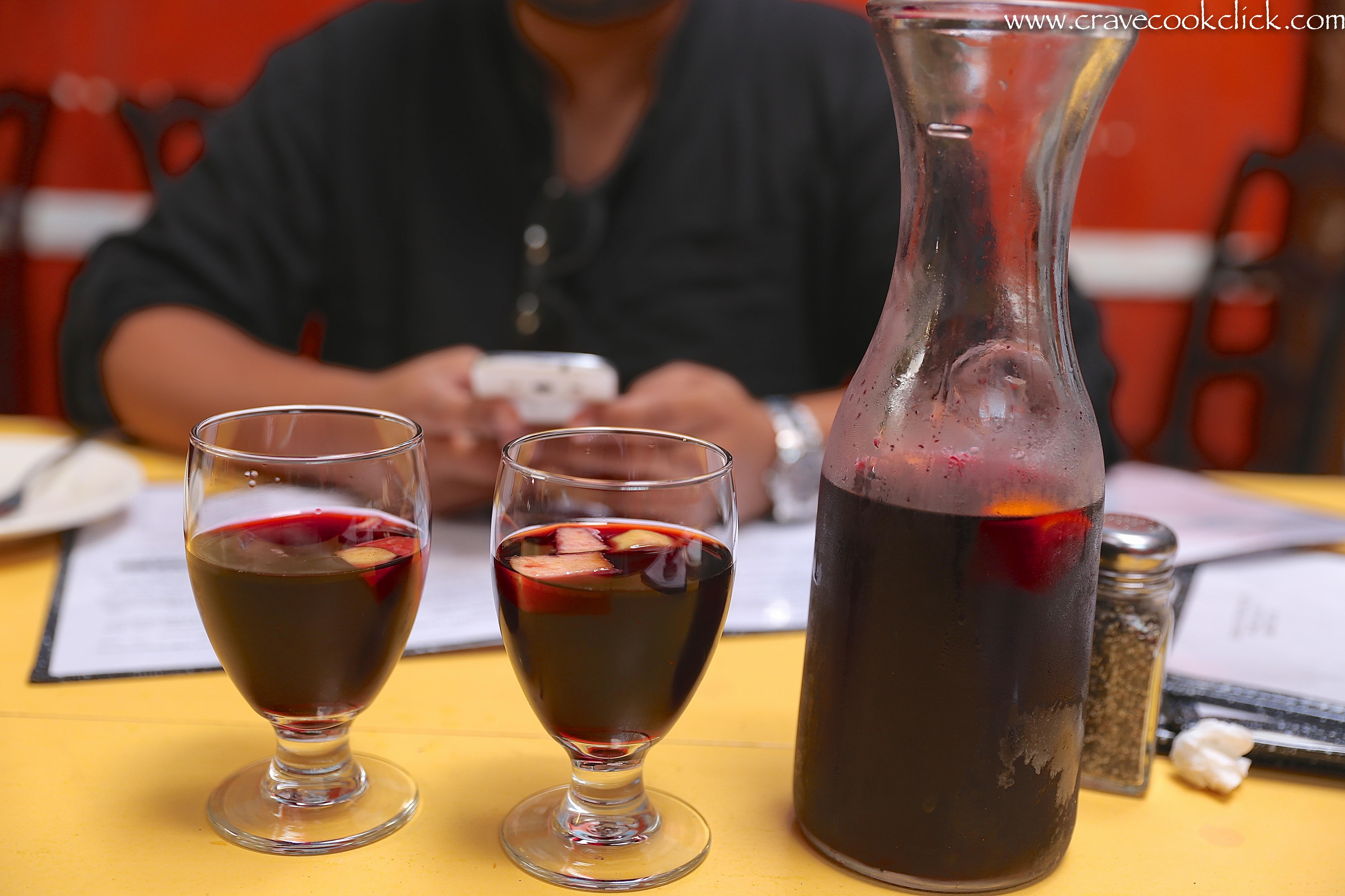 Red Wine Sangria Recipe, Picaro Restaurant, San Francisco