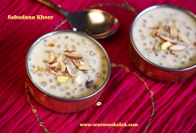Sabudana Kheer-Ashadhi Ekadashi Special Recipe, How to make sago kheer, Fasting Recipes