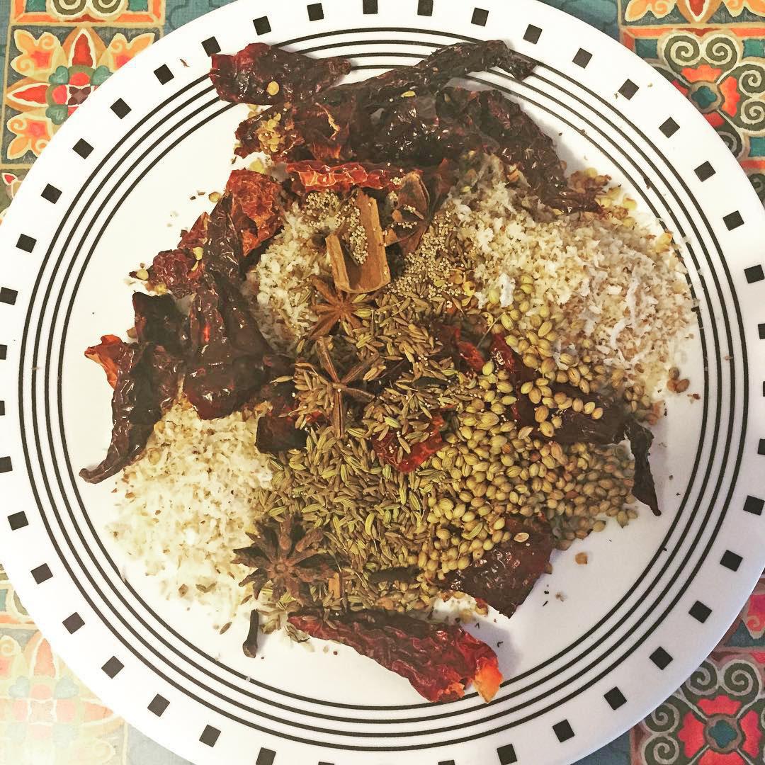 Goan Xacuti Prawns Curry Recipe