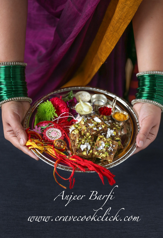 Anjeer Barfi Recipe/How to make anjeer barfi