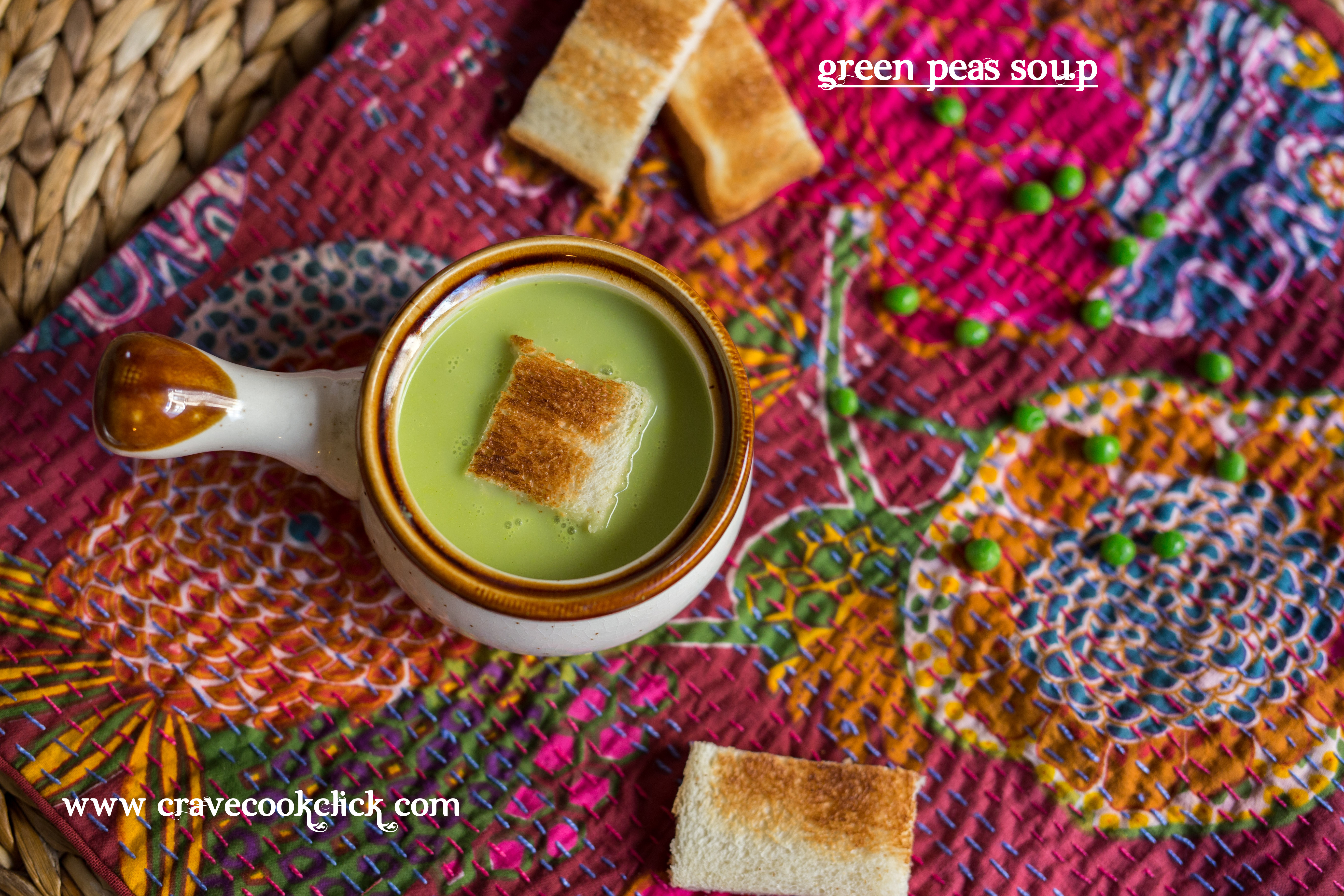 Green Peas Soup Recipe