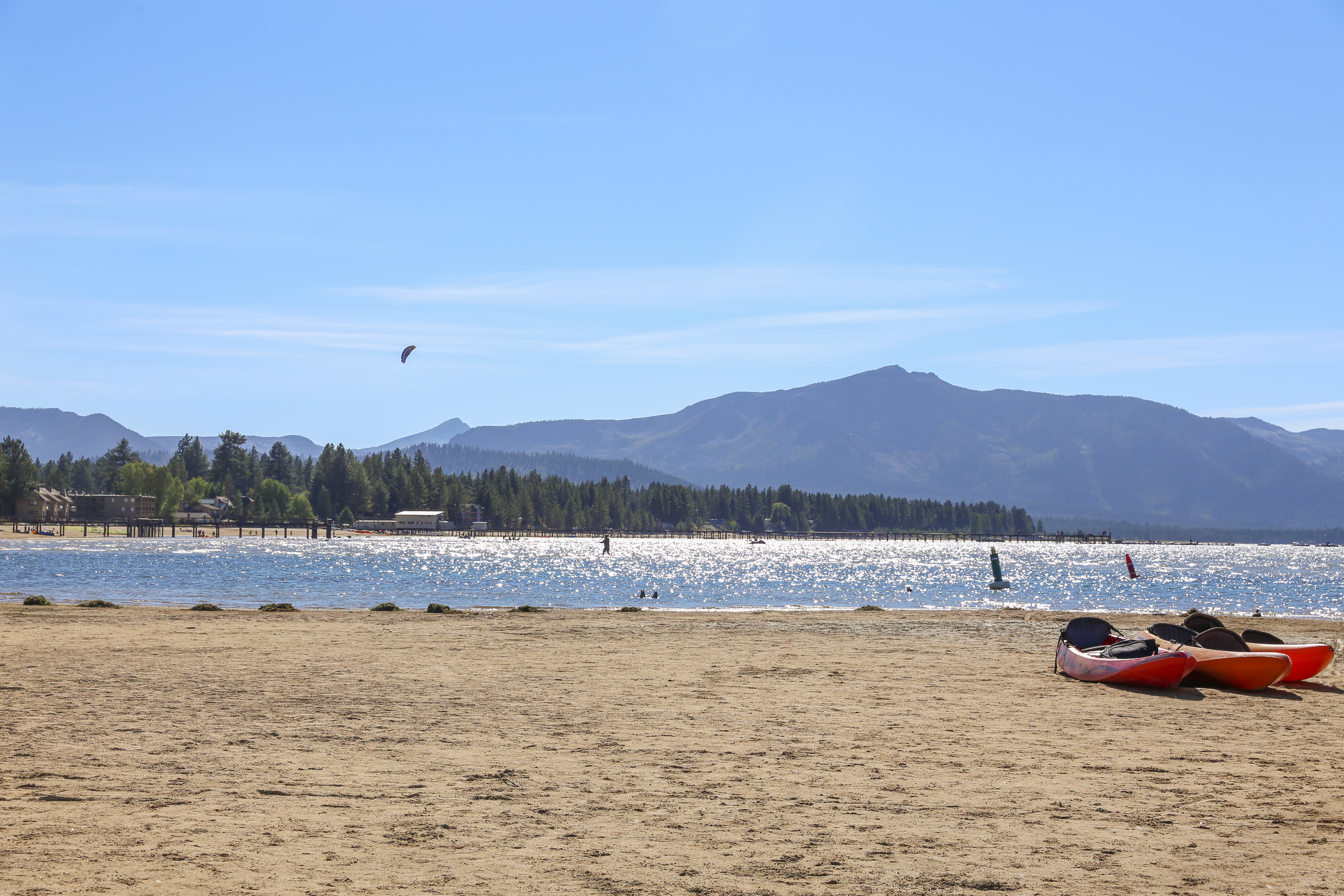 Visit to Lake Tahoe in Summer