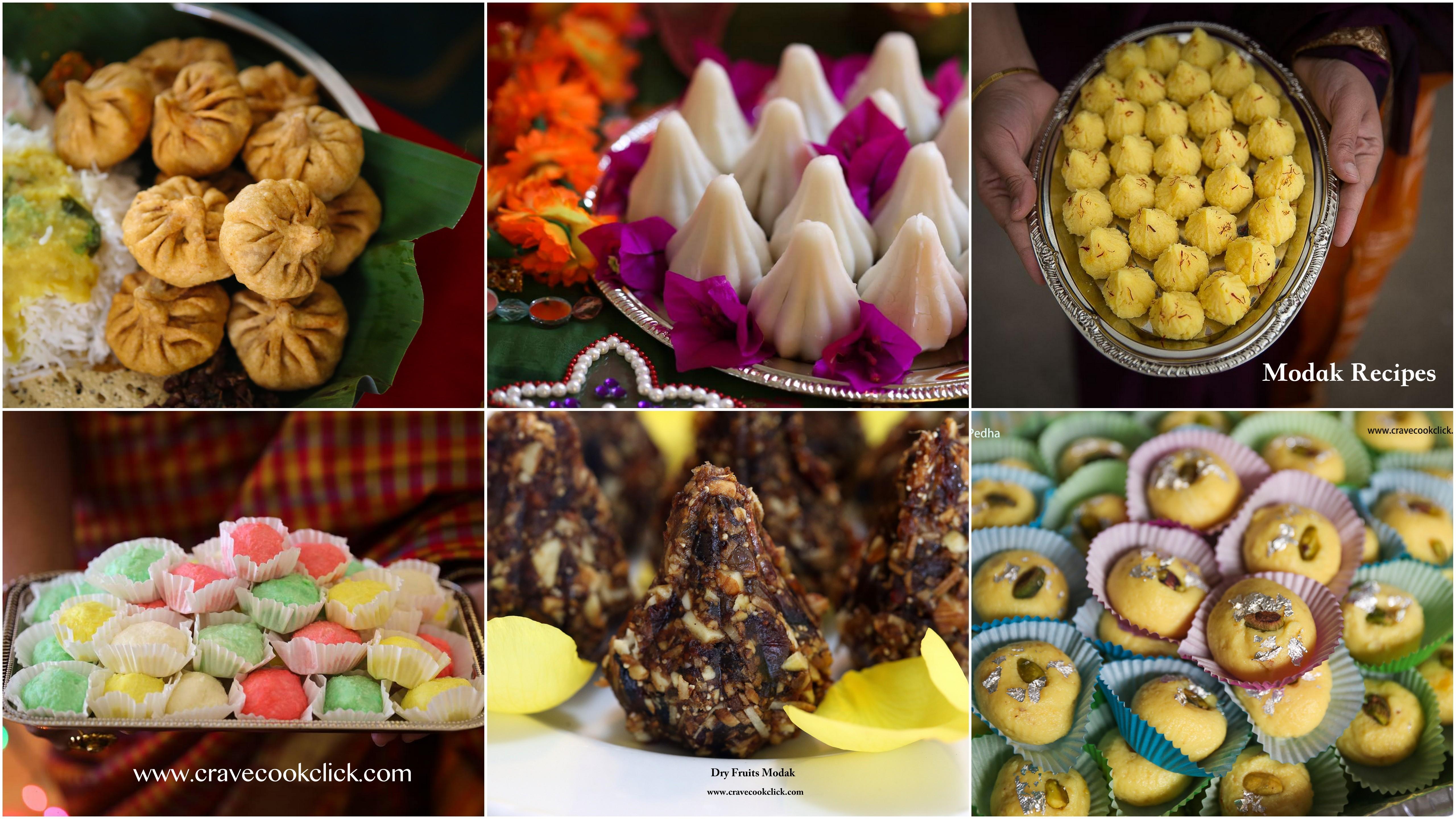 Ganesh Festival Recipes/Modak Recipes/How to make modaks/Modak making videos