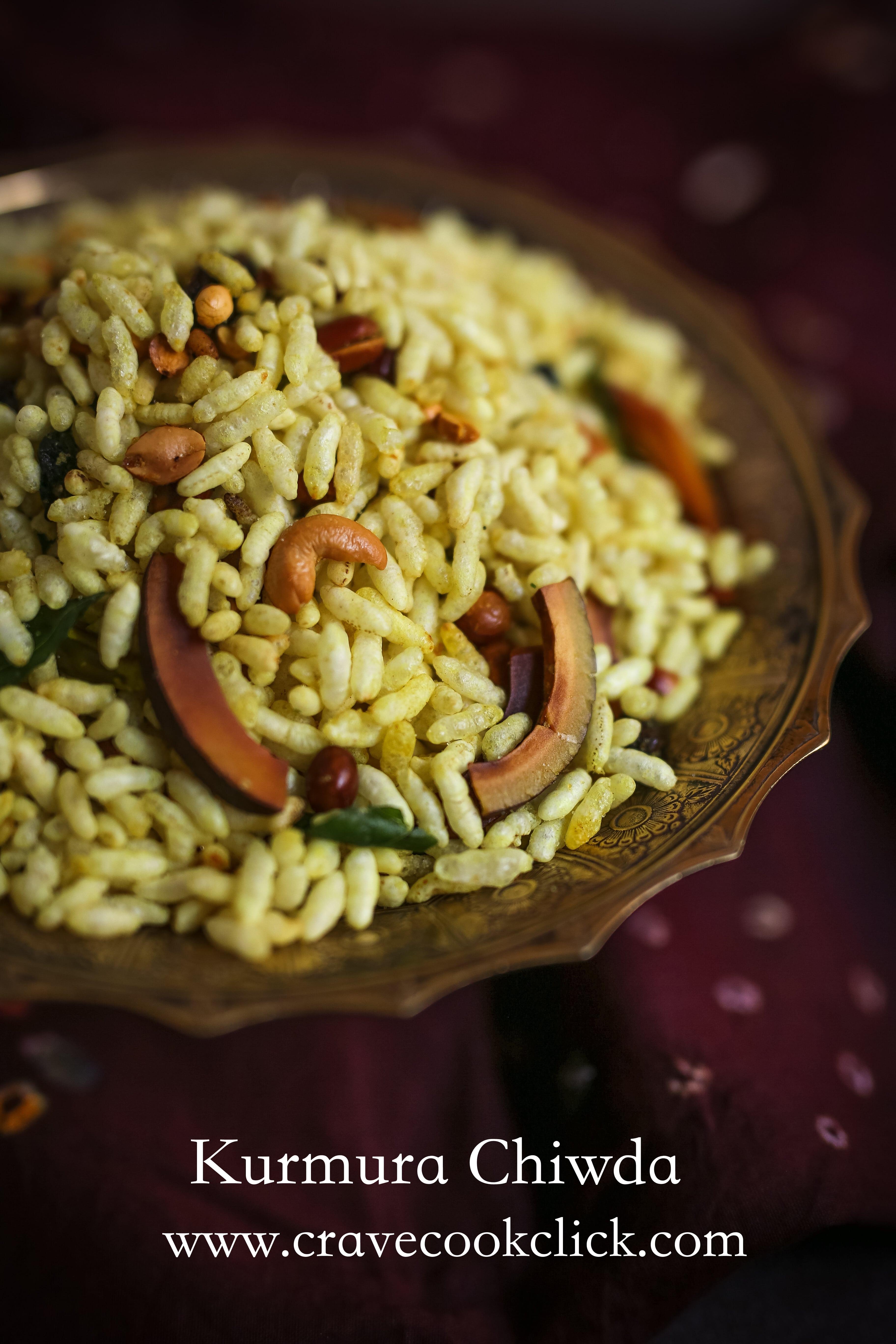 Kurmura Chiwda Recipe- Diwali Delicacy