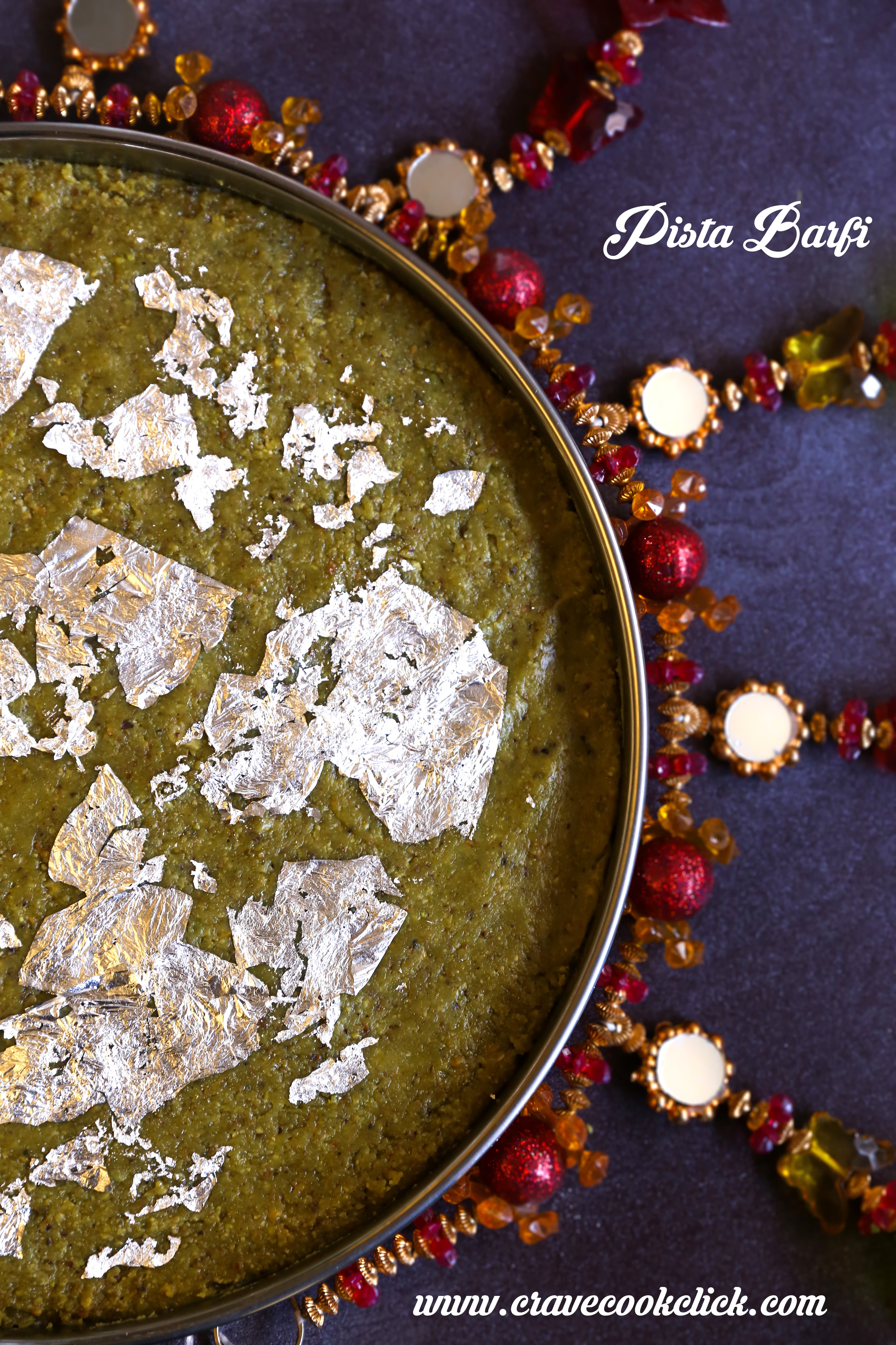 Pista Barfi Recipe, Diwali Recipe, Diwali sweets, Indian delicacies