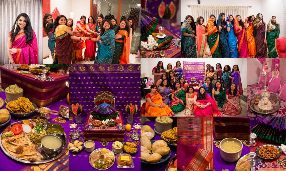 Chaitra Haldi Kumkum Celebration Delicacies
