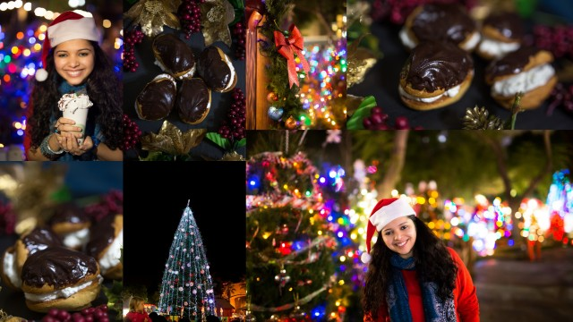 Chocolate Eclair Recipe & Christmas in the Park