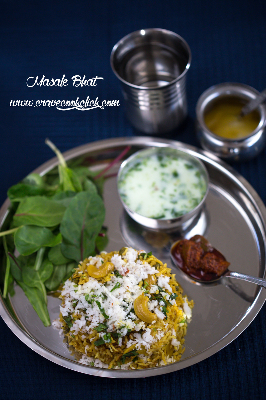 masale bhat recipe, how to make masale bhat, veg rice recipe, maharashtrian recipes, indian rice recipes, spicy rice recipe, marathi recipes, vangi bhat, phodnicha bhat, wedding recipes, food photography, food porn, food blogger, food photographer, matha recipe, buttermilk