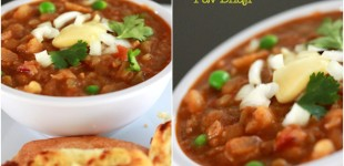 Pav Bhaji Recipe, How to make pav bhaji, pav bhaji easy recipe, mumbai pav bhaji