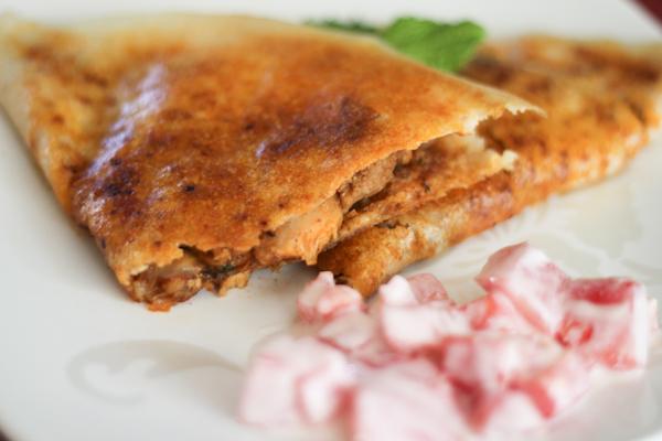 Chicken Dosa Recipe
