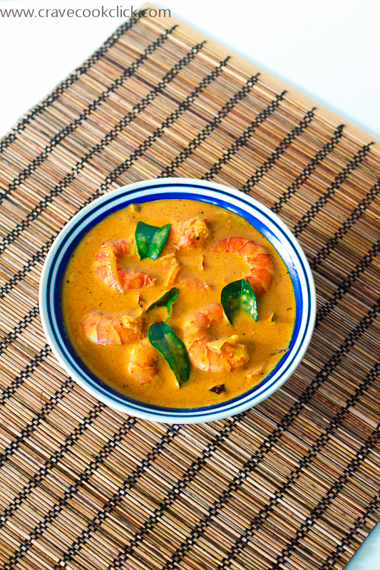 Kerala style Prawns Curry Recipe