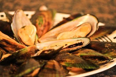 Green clams recipe