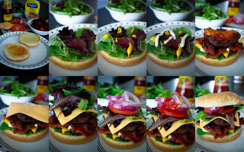 Grilled Chicken Burger Recipe